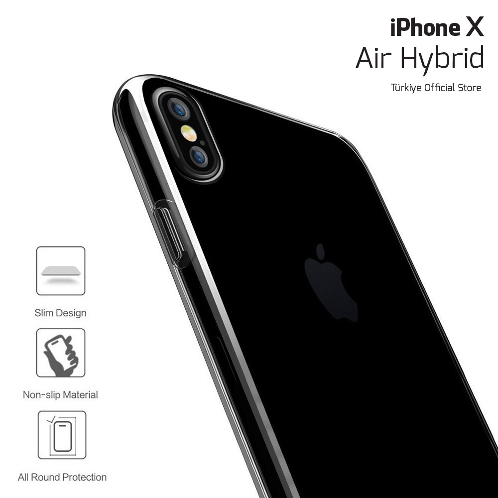 BUFF iPhone X Air Hybrid Kılıf